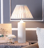 Giovanni Table Lamp in off White by CasaCraft