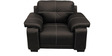 Gloria (3 + 1 + 1) Seater Sofa Set in Brown Colour by Home City