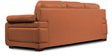 Gloria Three Seater Sofa in Tan Color by Home City