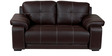 Gloria Two Seater Sofa in Brown Colour by Home City