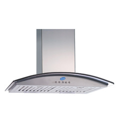 Glen Stainless Steel 23.62 Inch Hood Chimney (Model No: 6071) 60 CM