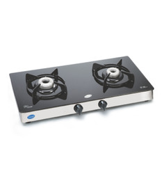 Glen Toughened Glass 2-burner Auto-ignition Cooktop (Model: GL1022 GT AI)