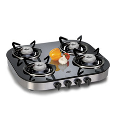 Glen GL1046 GT Toughened Glass 4-burner Cooktop