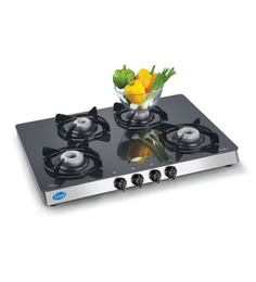 Glen GL1048 GT Toughened Glass 4-burner Cooktop