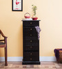 Glendale Chest of Seven Drawers in Espresso Walnut Finish by Woodsworth