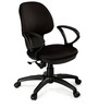 Global Medium Back Ergonomic Chair in Black Colour by Debono