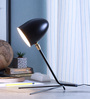 Glowbox Black Iron Table Lamp