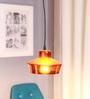 Glowbox Bronze Glass Pendant