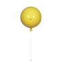 Glowbox Yellow Acrylic Wall Lamp