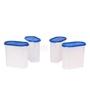 Gluman Blue 650 ML (Each) Modular Storage Container - Set of 4