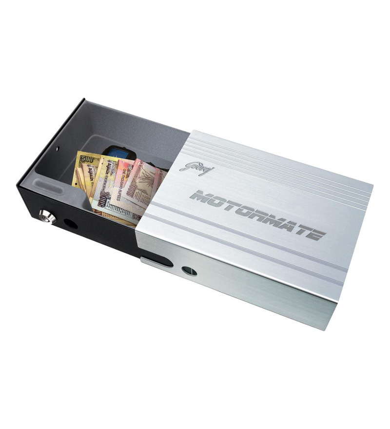 Godrej Security Solutions Steel 1 L Mechanical Motormate Safe  available at Pepperfry for Rs.2449