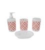 Go Hooked PVC Bathroom Set - Set of 4