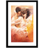 Go Hooked MDF 14 x 20 Inch Passionate Dance Framed Art Print