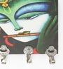 Go Hooked Multicolour MDF Radha-Krishna Durable Key Holder