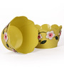 Go Hooked Designer Planter Yellow Set of 2