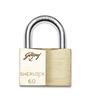 Godrej Locking Solutions Sherlock Brass 60 mm Padlock