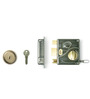 Godrej Locking Solutions Ultra Tribolt Brass 2.08 x 4 x 4.5 Inch Inside Opening Door Bolt Lock