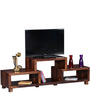 Madison Entertainment Unit in Provincial Teak Finish by Woodsworth