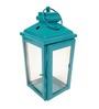 Gol Maal Shop Iron Blue Tower Lantern