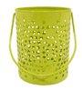 Gol Maal Shop Iron Light Green Long Bucket Votive