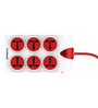 Goldmedal Plugged-IN  10 Ampere 6x1 Spike Guard