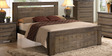 Graciela Queen Size Bed in Wenge Colour by CasaCraft