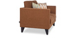 Greenwich Two Seater Sofa in Caramel Brown Colour by Urban Living