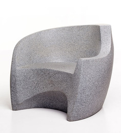 Grained Chair In Grey By Red Olive