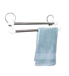 Gran GNSQ1807 PVC 18.8 x 6.2 x 6. 1 Inch Double Layer Towel Rack