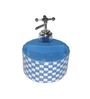 GRAN Blue Ceramic Soap Dispenser