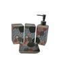 Gran Multicolour Ceramic Accessories Set - Set of 4