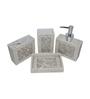 Gran Multicolour Resin Bath Accessories - Set of 4