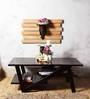 Amery Coffee Table in Espresso Walnut Finish by Woodsworth