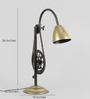 Grated Ginger Gold Iron Table Lamp