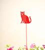 Green Gardenia GI metal Plant poker-CAT-Red