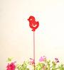 Green Gardenia GI metal Plant poker-CHICK-Red
