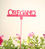 Green Gardenia GI metal Plant poker OREGANO-Pink
