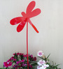 Green Gardenia Metal Dragonfly Poker Red Color