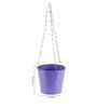 Green Girgit Purple Hanging Bucket