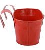 Green Girgit Mushroom Tub in Red Colour
