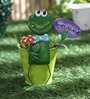 Green Girgit Small Frog Welcome Planter