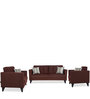 Greenwich One Seater Sofa in Dark Brown Colour by Urban Living