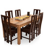 Gresham-Capra Six Seater Dining Set in Dual Tone by The ArmChair