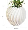 Greymode Suzhal White Planter
