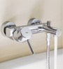 Grohe Concetto Silver Brass 9.5 x 8 x 5.7 Inch Bath Faucet