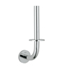 Grohe Essentials Silver Stainless Steel 13.7 x 5.9 x 3.1 Inch Toilet Paper Holder