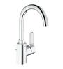 Grohe Eurosmart Cosmopolitan Silver Brass High Spout Basin Faucet