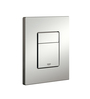 Grohe Skate Cosmopolitan Silver Stainless Steel 14.8 x 6.6 x 5.1 Inch Flush Plate
