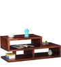 Madison Solid Wood Coffee Table in Honey Oak Finish by Woodsworth