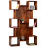 Fairmont Display Unit in Honey Oak Finish by Woodsworth